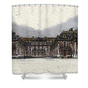 Le Chateau De Versailles Shower Curtain