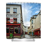 Le Consulat Shower Curtain