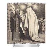 Le Fantome Shower Curtain