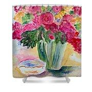 Le Fleur  Shower Curtain