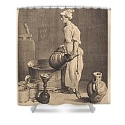 Le Garcon Cabaretier Shower Curtain