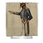 Le Militaire Shower Curtain