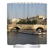 Le Pont Neuf. Paris. Shower Curtain