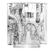Le Pontis Saint-paul De Vence France Shower Curtain