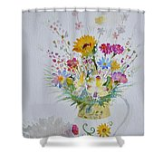 Le Printemps Dans La Maison Shower Curtain