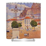 Le Puy The Sunny Plaza 1890 Shower Curtain