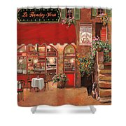 Le Rendez Vous Shower Curtain