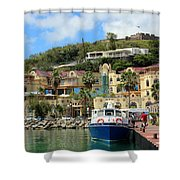Le West Indies Mall In St. Martin  Shower Curtain