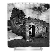 Lead Mines Shower Curtain