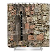 Leaded Nunnery Window Shower Curtain