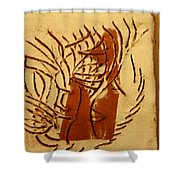 Leaders - Tile Shower Curtain