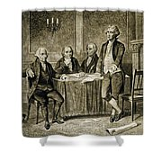Leaders Of The First Continental Congress Shower Curtain