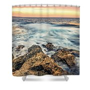 Leading Lines Shower Curtain