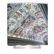 Leading To The Sistine Chapel Shower Curtain