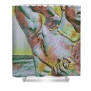 Leading Up Shower Curtain