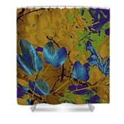 Leaf And Flower 10 Shower Curtain