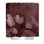 Leaf And Flower 2 Shower Curtain