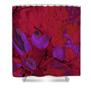 Leaf And Flower 9 Shower Curtain