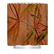 Leaf Dance Shower Curtain