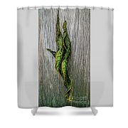 Leaf Entwined Shower Curtain