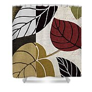 Leaf Story Shower Curtain