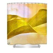 Leaf Y Shower Curtain