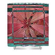 Leafy Delight 1 Shower Curtain
