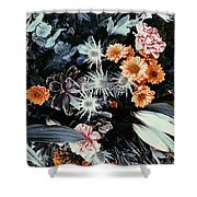 Leafy Dreams Shower Curtain