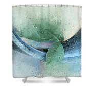 Leafy Pipe Shower Curtain