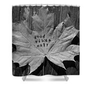 Leafy Vibes Shower Curtain