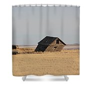 Leaning Memories Shower Curtain