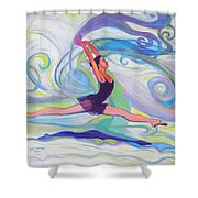 Leap Of Joy Shower Curtain