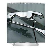 Leaping Jaguar Shower Curtain