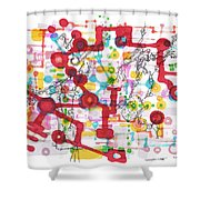 Learning Circuit Shower Curtain