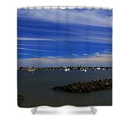 Learning To Breathe Again Shower Curtain