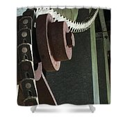 Leather Chain Shower Curtain