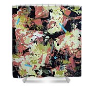 Leather Weather Shower Curtain