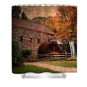 Leave A Light On For Me Shower Curtain