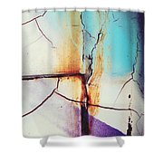 Leave My Village Shower Curtain