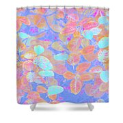 Leaves 20 Shower Curtain