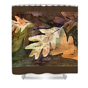 Leaves 7 Shower Curtain