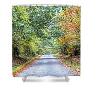 Leaves Changing In The Fall Near Collierville,tn Shower Curtain