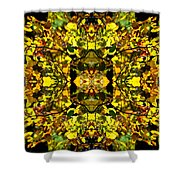 Leaves In The Fall Design Shower Curtain