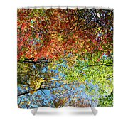 Leaves Of All Colors Shower Curtain