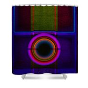 Leaving Lilac Shower Curtain