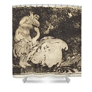 Leda Bathing (l?da Au Bain) Shower Curtain