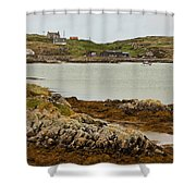 Ledaig Harbour Shower Curtain
