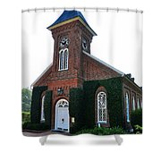 Lee Chapel Shower Curtain