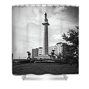 Lee Circle New Orleans Shower Curtain