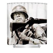 Lee Marvin, Vintage Actor Shower Curtain